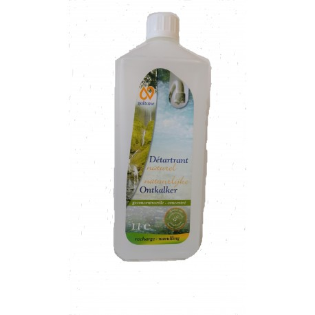 DETARTRANT NATUREL CONCENTRE en 1 Litre