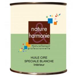 HUILE CIRE SPECIALE - BLANCHE NATURE ET HARMONIE