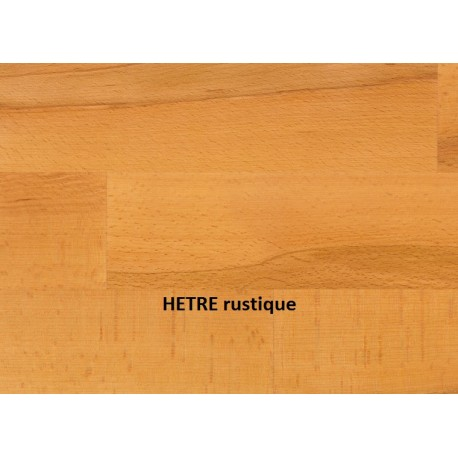 PARQUET FLOTTANT en BOIS HOLZLOC ( 3 largeurs ) VERNIS / HETRE rustique
